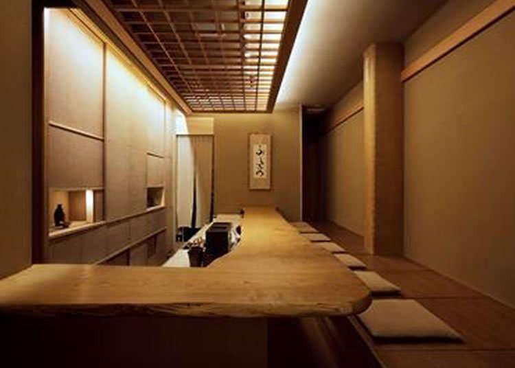 置身於宛如茶室般的和式空間感受日本的心靈