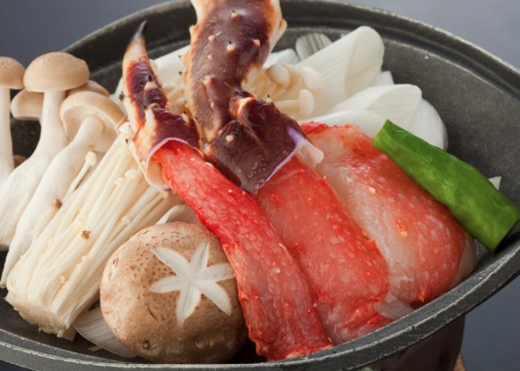 Nikmati kesedapan ketam dan Yamagata-gyu (daging Yamagata)