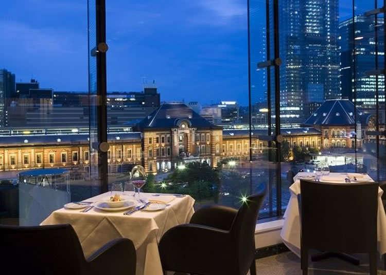 Nikmati Keindahan Tokyo Station Dari Restoran Perancis Terkenal