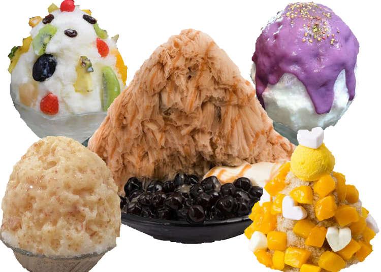 카키고리라 불리는 일본 팥빙수! 일본 도쿄의 팥빙수 맛집 베스트 6