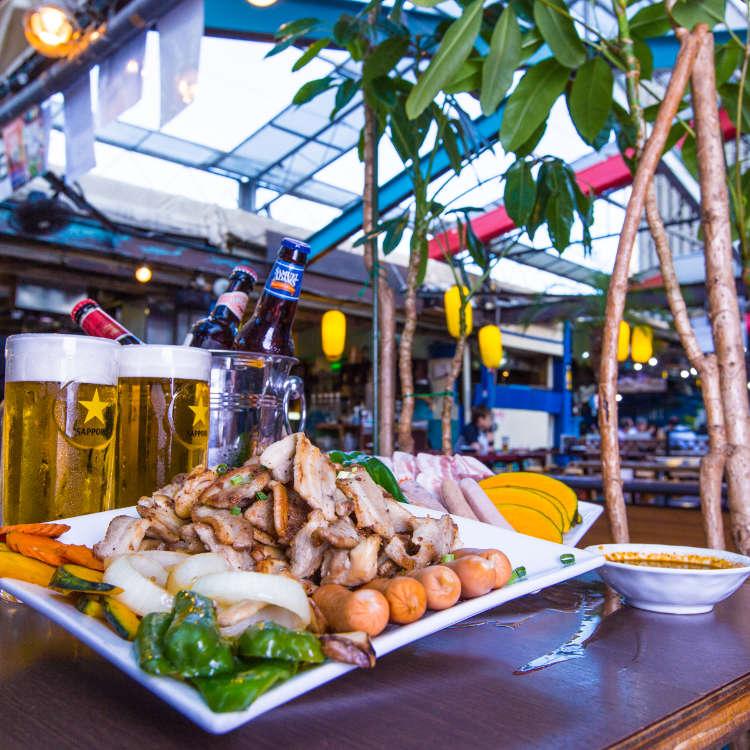 别具一格的店铺聚集!新宿的啤酒花园