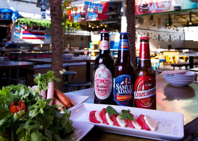 世界のビールが常時30種以上!