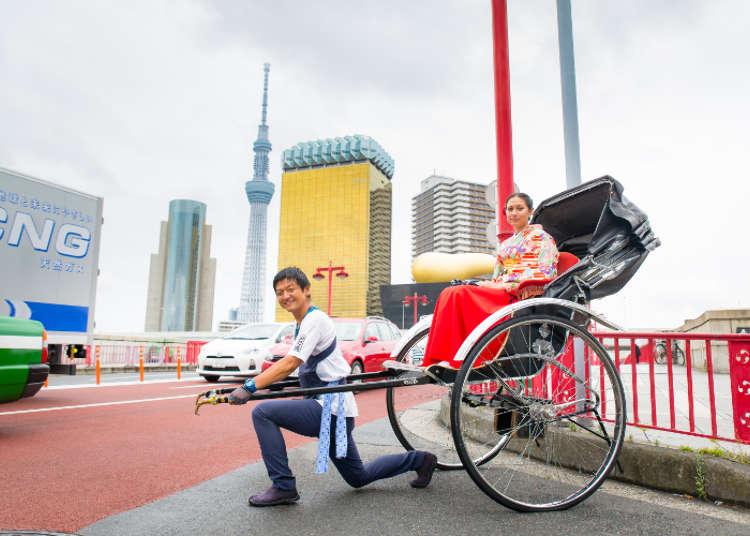 [MOVIE] A Rickshaw Tour Through Asakusa