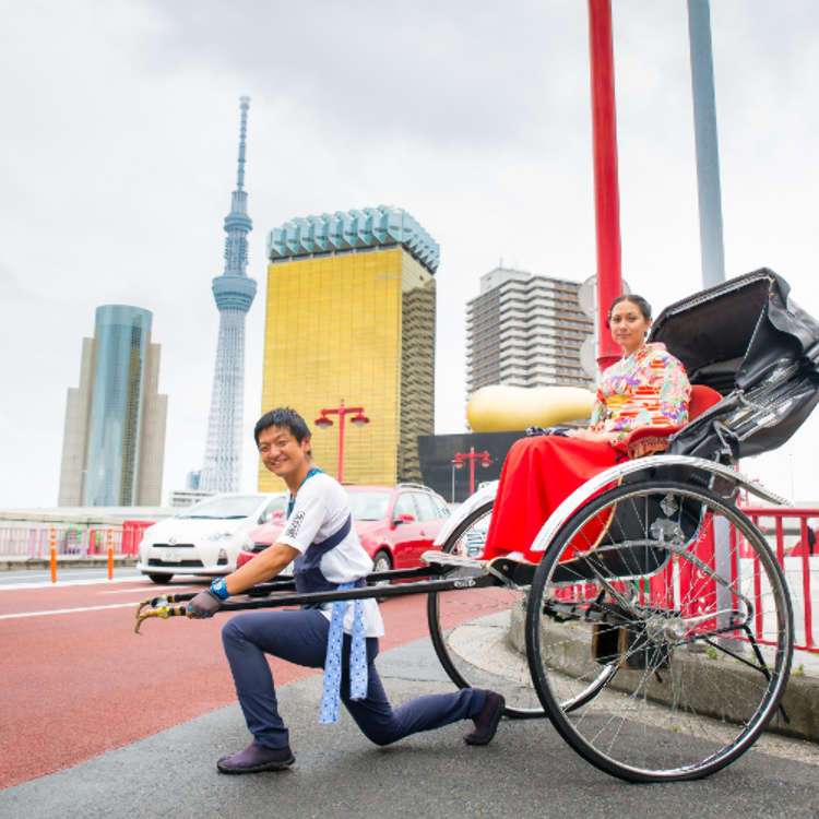 [MOVIE] A Rickshaw Tour Through Asakusa