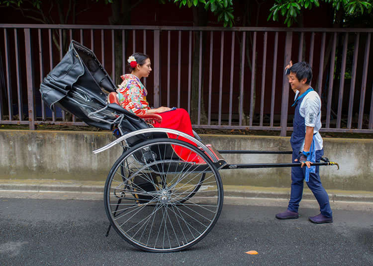 Beginning My Rickshaw Journey