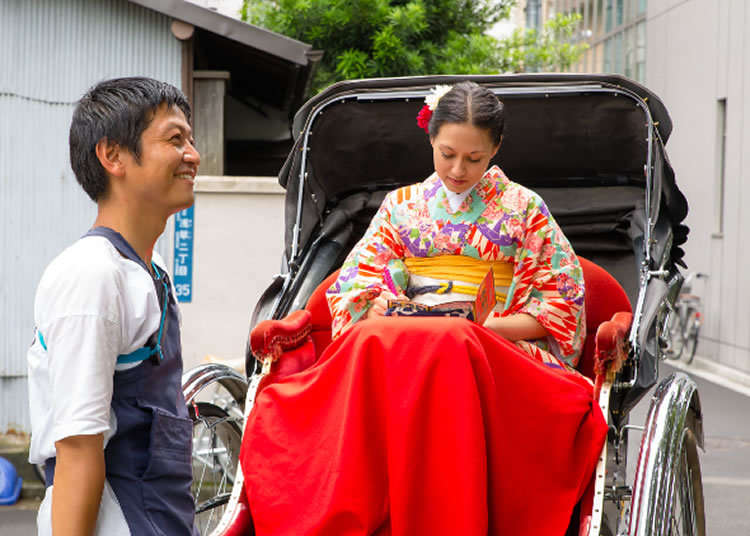 Try a Rickshaw Tour in Asakusa for Yourself!