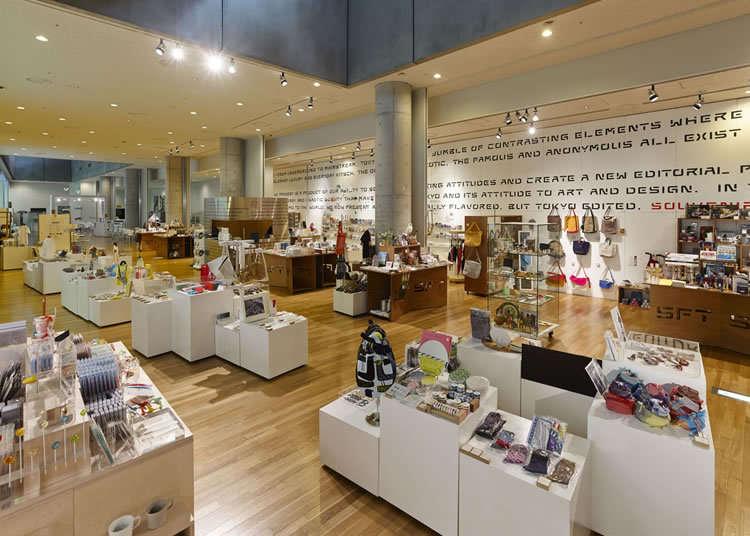 尋找充滿東京風格的紀念品