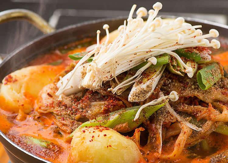 吃了令人还想再吃的辣味和浓郁味道!韩式土豆排骨汤