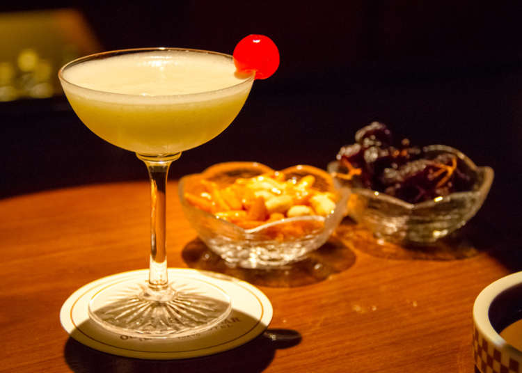 Japan's Most Famous Mountain in a Cocktail Glass