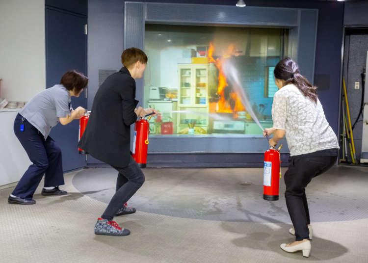 「火事だー!」日本の消火体験