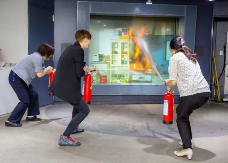 「Kebakaran!」pengalaman memadamkan kebakaran di Jepun