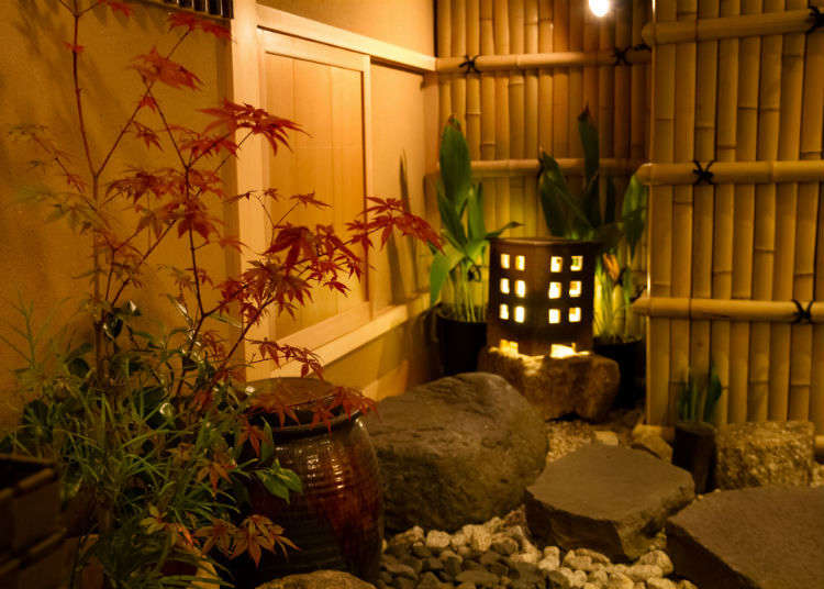 Entering the Teahouse via the Nijiriguchi