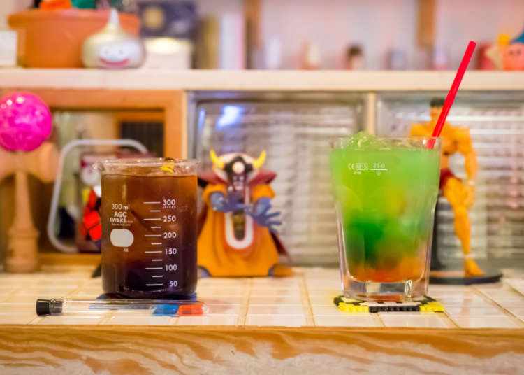 喝一杯飲料增加體力1UP!