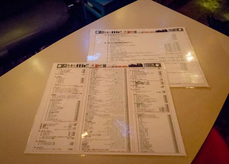 各式各樣的菜單 提供多種選擇