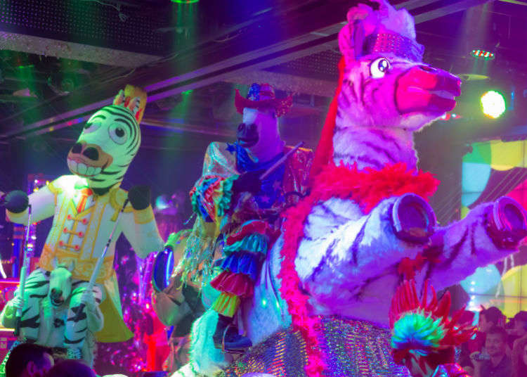 A Neon Circus Wonderland
