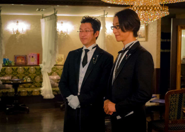 Cutaway and Swallowtail: Meeting My Butlers