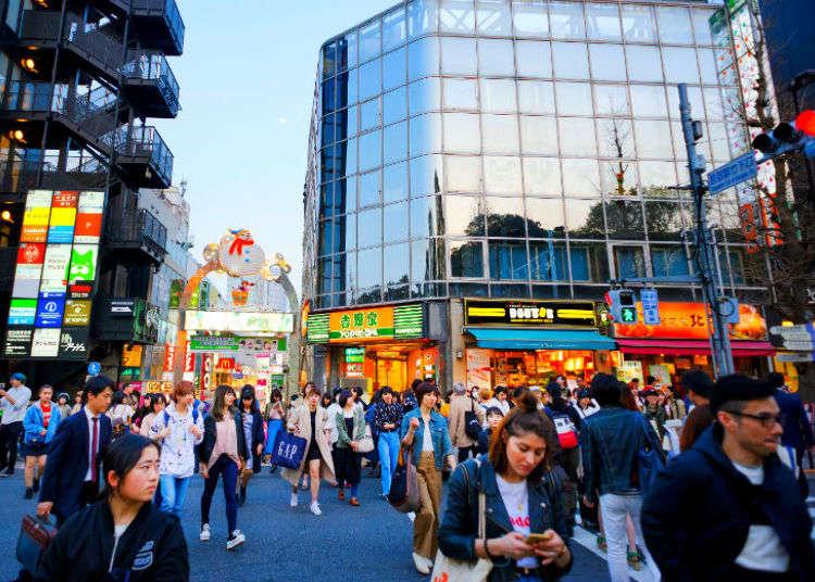 도쿄 하라주쿠, 오모테산도의 여행을 위한 볼거리! 이곳은 트렌드의 발상지?