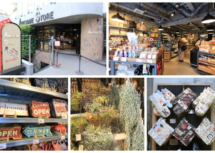 講求品質與設計的日本平價雜貨店「AWESOME STORE 原宿表参道店」