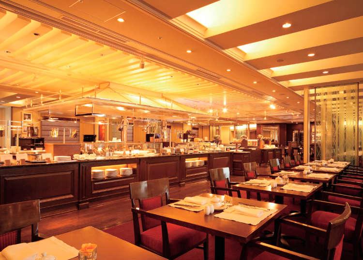 일본 최초의 뷔페 레스토랑
