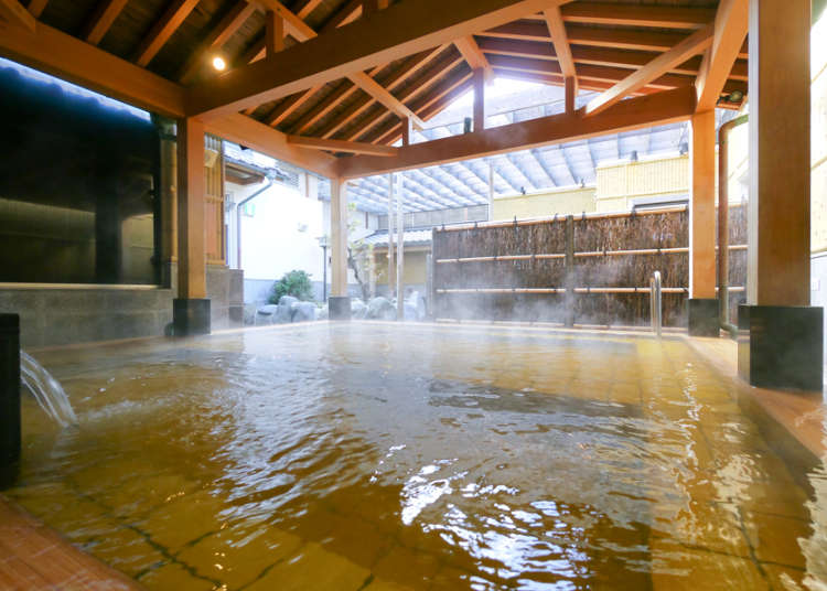 Tokyo's Top Three Natural Hot Springs: Soak your Body!