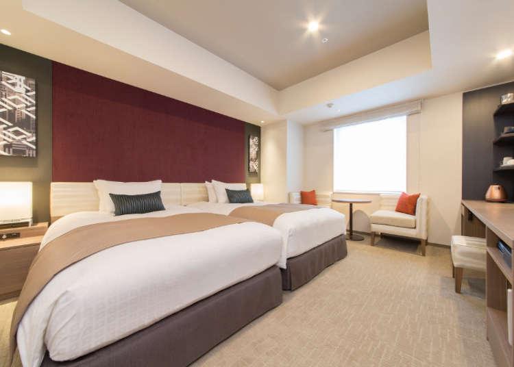 從住宿1晚到中、長期入住,提供舒適完善的住宿空間