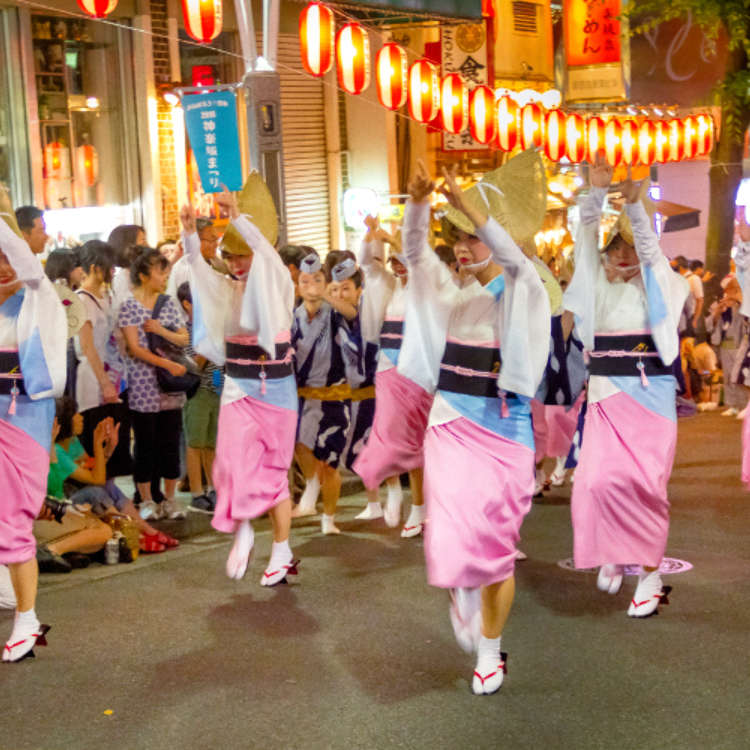 [MOVIE] 日本夏日祭典!「神樂坂祭」的阿波舞表演