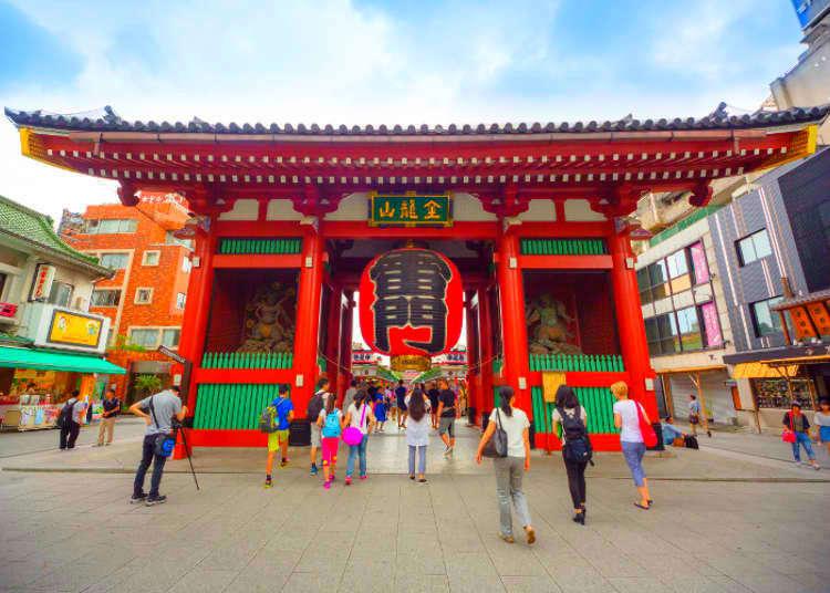 【MOVIE】拜訪淺草寺前一定要知道的7件事