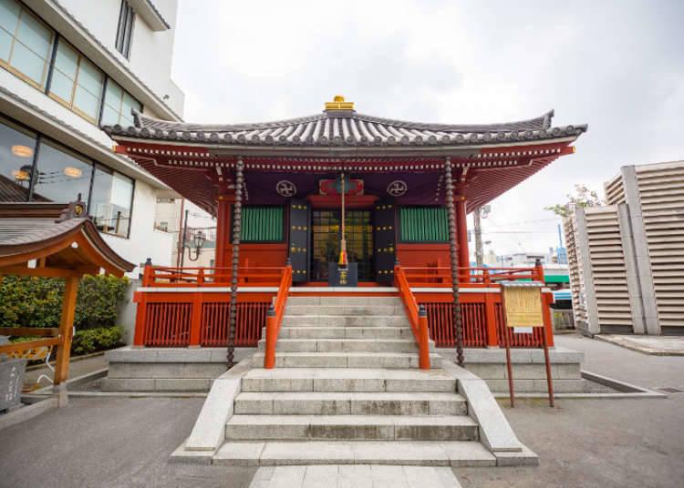 ศาลคามากาตะ จุดเริ่มต้นของวัดอาซากุสะ
