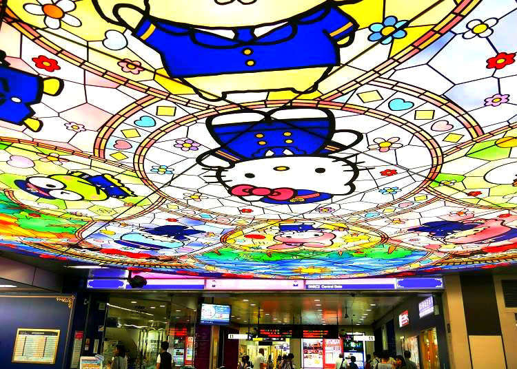 東京で一番Kawaii駅へハローキティに会いに行こう!