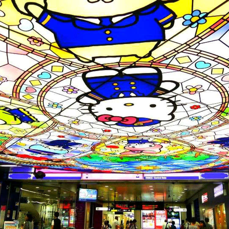 ไปหาคิตตี้ที่สถานี Kawaii ที่สุดในโตเกียวกัน!
