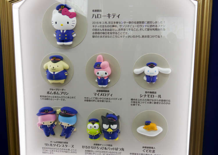 Station Master Hello Kitty; A Collaboration with the Keio Railway Corporation