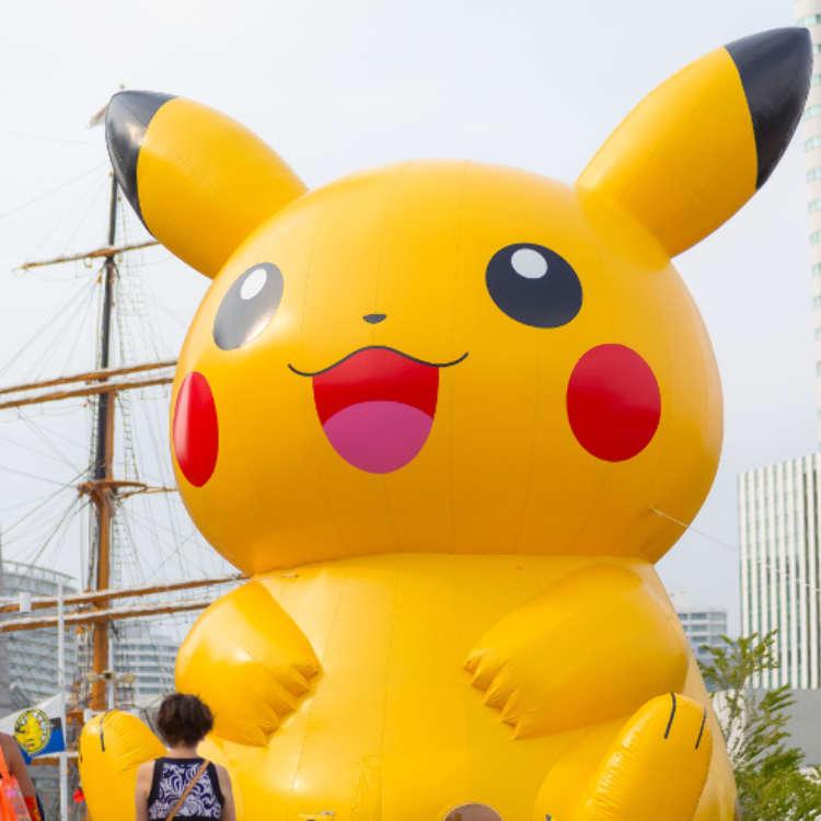 """在横滨""""皮卡丘大量发生中!"""""""