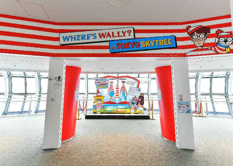 Where's Wally? in Tokyo Skytree (R) – Find Wally at Tokyo's Iconic Landmark Tower!