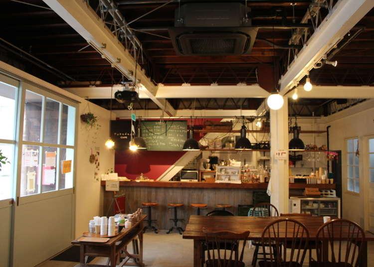 """让心灵沉淀的空间 咖啡屋""""fukadaso cafe"""""""