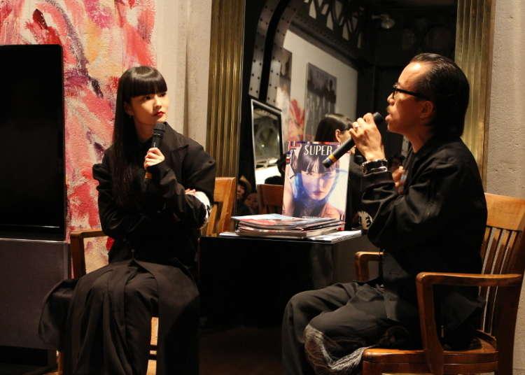 Fashion talks at Yohji Yamamoto's store