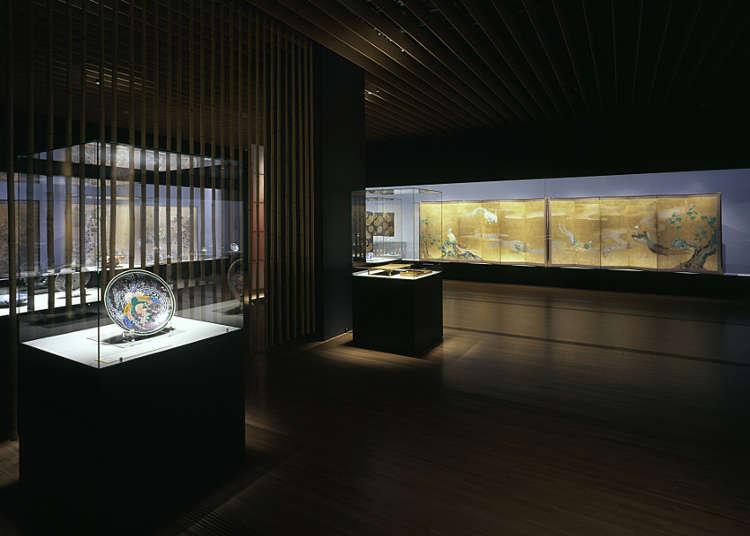 日本の古美術を中心とした美術館