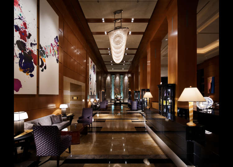 도쿄 굴지의 럭셔리 호텔