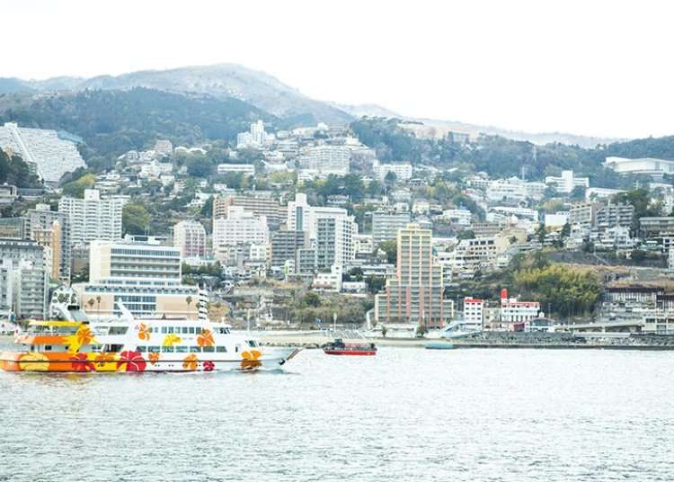 Tempat peranginan kolam air panas yang menghadap laut : Atami