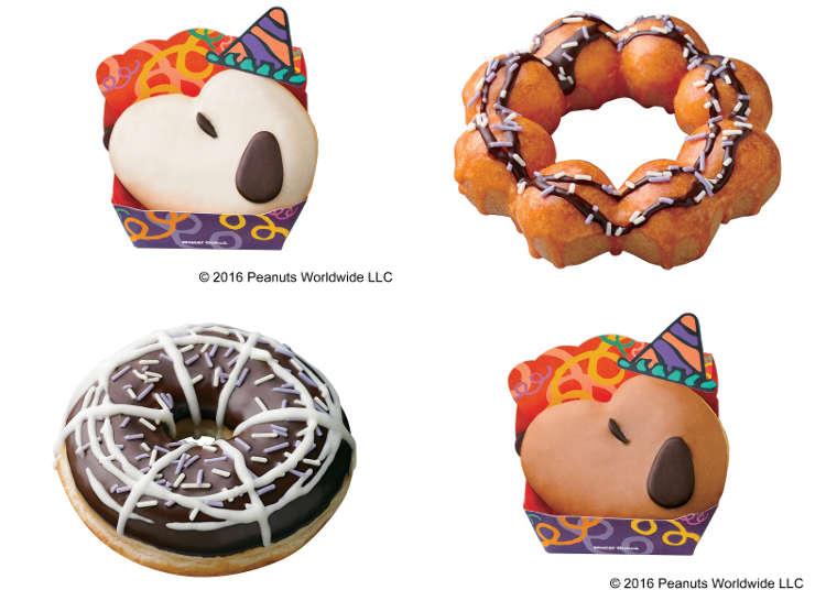 万圣节限定的史努比甜甜圈
