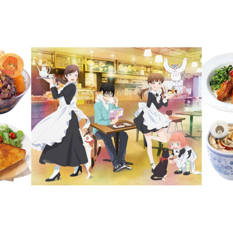 "Official Cafe of ""March Comes in like a Lion"" Anime Comes to Tokyo this October"