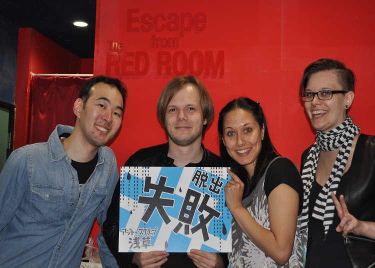 考驗你的解謎能力與團隊精神!在東京挑戰真人密室逃脫遊戲