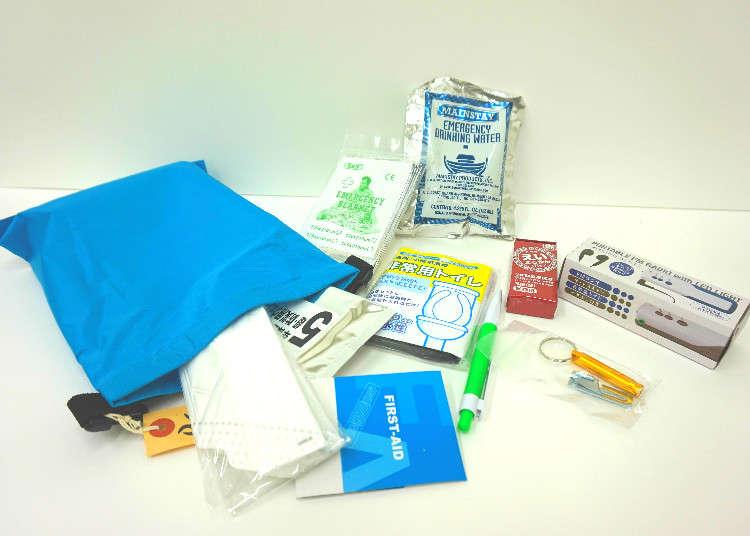女性防灾士所选 便于携带行走的避难应急包