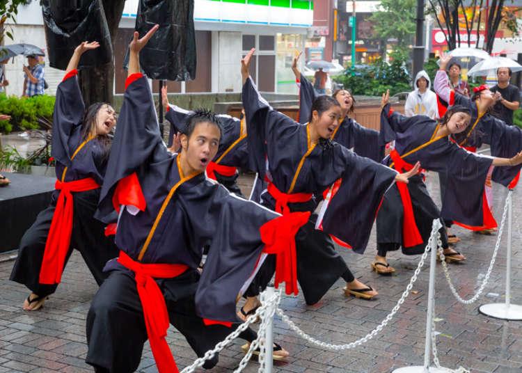 東京の人気学園祭が新宿に集結しPR!