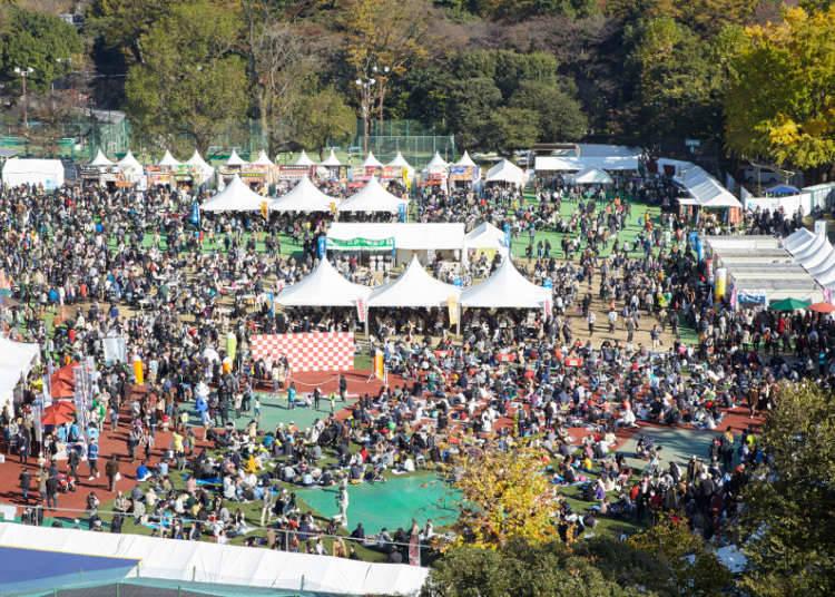 제20회 진구가이엔 은행나무 축제