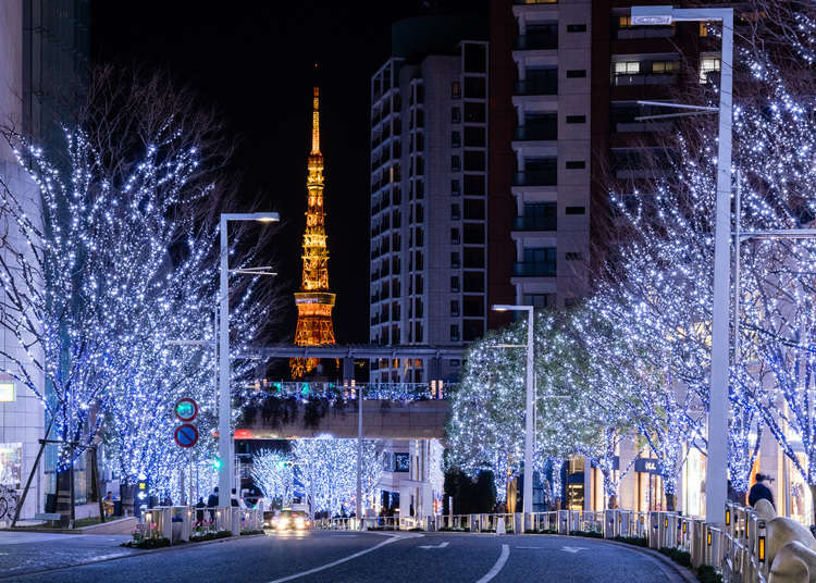 The 8 Brightest and Shiniest Tokyo Illuminations This Year