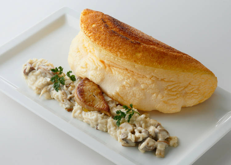 La Mere Poulard - Try the Famous Souffle Omelette!