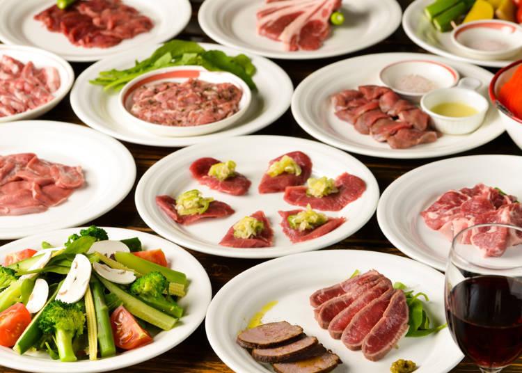 能够享受各种羊肉美食的名店