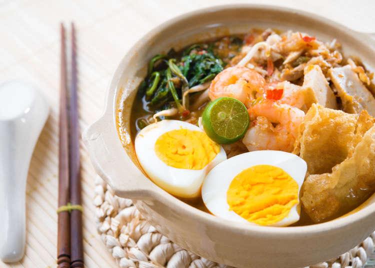 【2位】年間343個消費!麺大国のマレーシアは卵入り麺の豊富さが決め手か