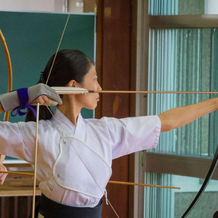 東京で弓道を体験