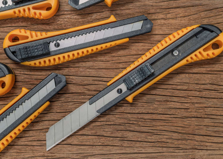 Inspired by Chocolate: The Snap-Off Blade Cutter Knife